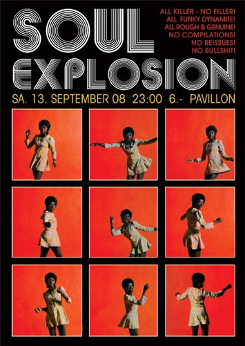 Soul Explosion Party Flyer