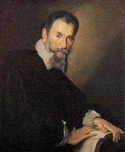 Claudio Monteverdi (by painter Bernardo Strozzi), c. 1630