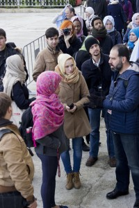 Conference participants sightseeing in Istanbul (photo by the author)