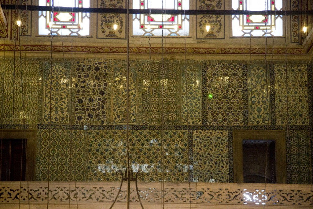 One of the many beautiful patterns covering the 400 years old mosque. Photo: Inasa Bibic