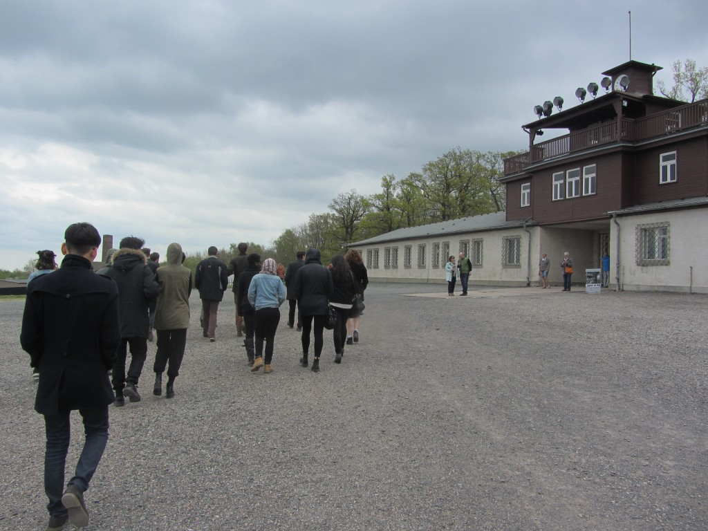 Students tour former concentration camp, Buchenwald, on our final day.