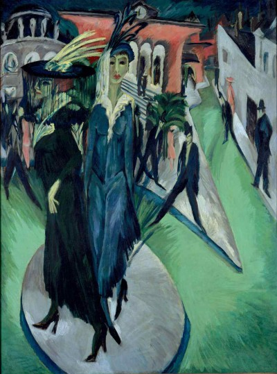 Potsdamer Platz. 1914. Oil on canvas, 200 x 150 cm. Inv. VI 48.850. Photo: Joerg P. Anders. Image licenced to Gretchen Wagner Museum of Modern Art by Gretchen Wagner Usage : - 3000 X 3000 pixels (Letter Size, A4) © Bildarchiv Preussischer Kulturbesitz / Art Resource