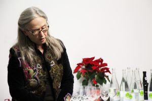 Susan Gillespie speaks at the alumni gathering of December 11th 2016 (Credit: Tamar Maare)